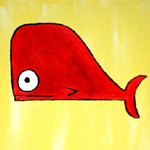 red whale